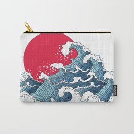 The Second Great Wave Carry-All Pouch