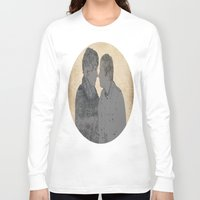 johnlock Long Sleeve T-shirts featuring PRESSURE POINT  by thescudders