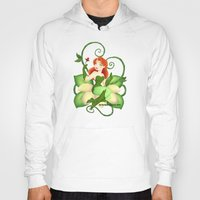 poison ivy Hoodies featuring Poison Ivy  by Katie Simpson a.k.a. Redhead-K