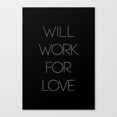 i will. Canvas Print