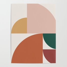 Abstract Geometric 10 Poster