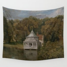 John Constable - The Quarters behind Alresford Hall Wall Tapestry