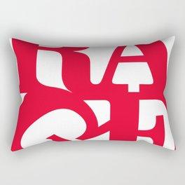 rage against the machine logo 2020 Rectangular Pillow