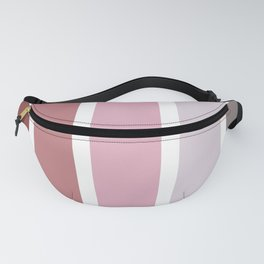 Stripes Pattern Colors Of Rose No.4 Fanny Pack