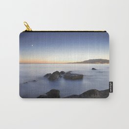 Venus and the moon over the sea  Carry-All Pouch