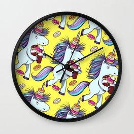 The Intern (Yellow) Wall Clock