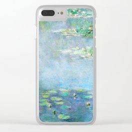 Monet Water Lilies / Nymphéas 1906 Clear iPhone Case