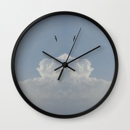 Sky high Wall Clock