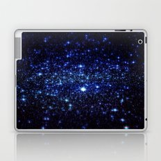 Dark Blue Stars Laptop & iPad Skin