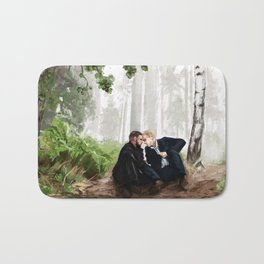 In the woods Bath Mat