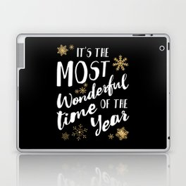It's the Most Wonderful Time of the Year - Black Laptop & iPad Skin