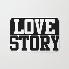 Love story Bath Mat