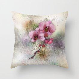 tiny, perfect beauty Throw Pillow
