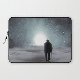 Old Man Walking Towards Heaven Laptop Sleeve