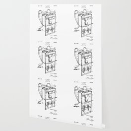 patent art Campiglia First Aid kit 1942 Wallpaper