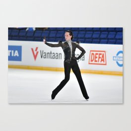 Johnny Weir Canvas Print