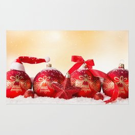 Christmas Ornaments Rug