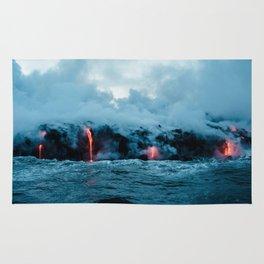 Vulcano ocean Rug