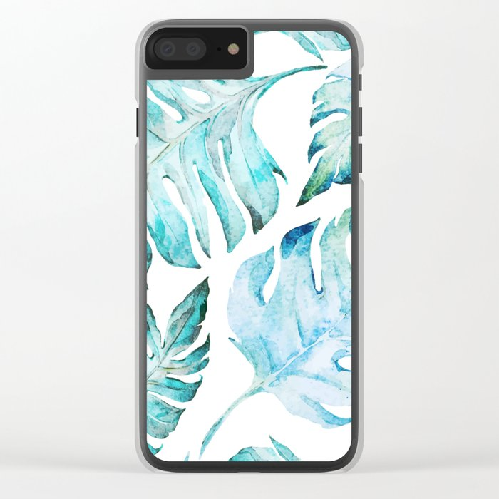 love tropical Clear iPhone Case