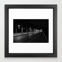 Paris Bridge Framed Art Print