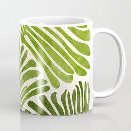 Summer Fern / Simple Modern Watercolor Coffee Mug