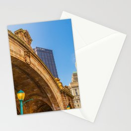 Pittsburgh Penn Station City View Pennsylvania Stationery Cards