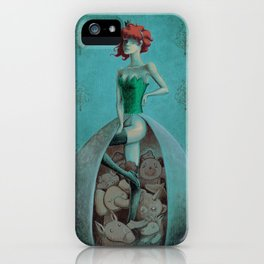 I'm happy without my pants iPhone Case
