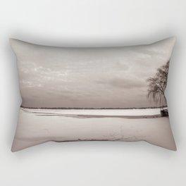Look towards Toronto island Rectangular Pillow