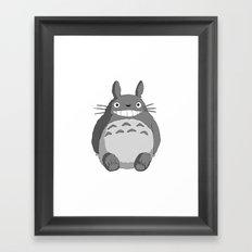 I Love Totoro Framed Art Print