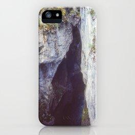 Maligne Canyon 3 iPhone Case