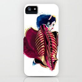 Anatomy 07a iPhone Case