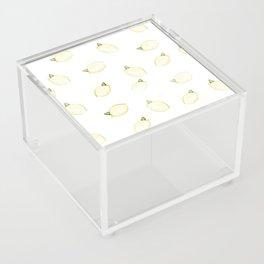 Lemony Acrylic Box