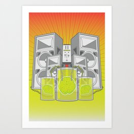 Music from the Mind Art Print