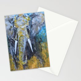 African Elephant Bull Stationery Cards