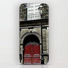 Paris 3 : The Red Door iPhone & iPod Skin