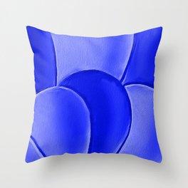 The Blue Eggs Throw Pillow
