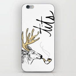 Dirty Dishes-- Stag iPhone Skin