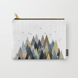 Mountain Collage Carry-All Pouch