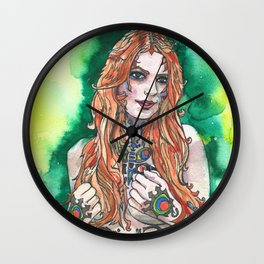 THE POLITE FORCE Wall Clock
