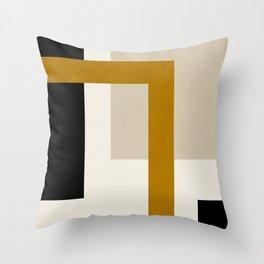 ABSTRACT GEOMETRIC ART 01 Throw Pillow