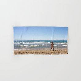 Defying waves Hand & Bath Towel