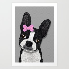 Boston Girl Art Print
