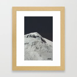 SURFACE #3 // CASTLE Framed Art Print
