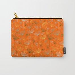Mid-Century Modern Art Umbrella Flowers 1.4 Carry-All Pouch