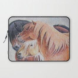 Three Musketeers Shetland Ponies Laptop Sleeve