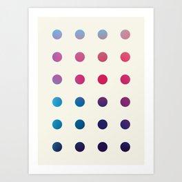 Code 01 Art Print