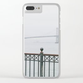 Bay View Clear iPhone Case
