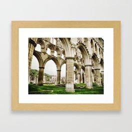 Cloisters of Rievaulx Abbey Framed Art Print