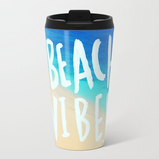 Beach Vibes x Hawaii Metal Travel Mug