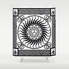 Celtic_001 Shower Curtain